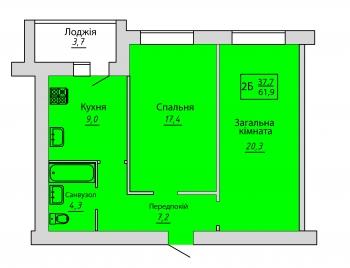 №39. Квартира (2Б)