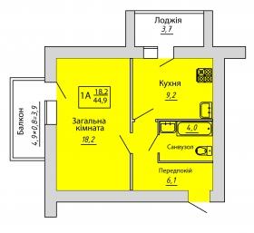 №66. Квартира (1А)