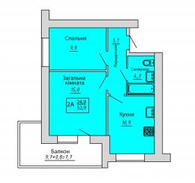 №51. Квартира (2А)