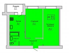 №67. Квартира (2Б)