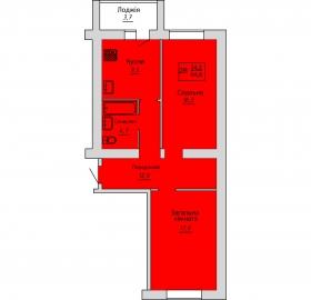 №55. Квартира (2В)
